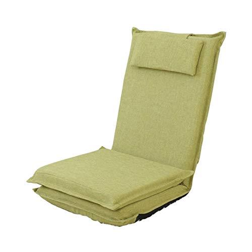Bdesign Faltensessel Sessel Sitzsack Bettstuhl Innen- und Außenbereich extra große Gaming Sitzwetterfest (Color : Light Green)