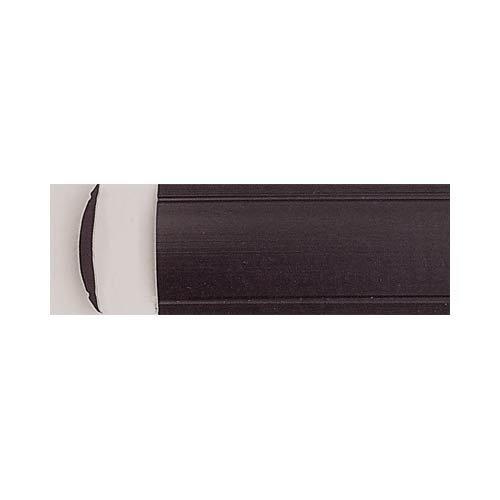 Leistenfüller uni schwarz 12mm breit
