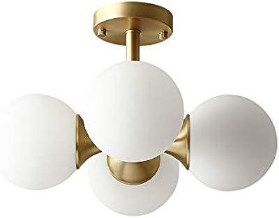 Amazon.com: GlanzLight GL-62794G - Lámpara de techo con ...