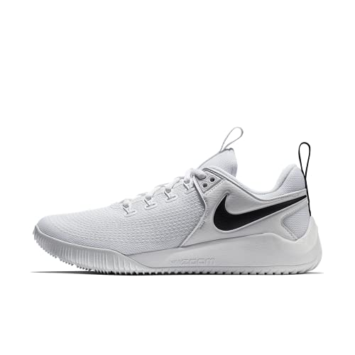 Nike Women's Zoom HyperAce 2 Volleyball Shoes (5, Black/White)