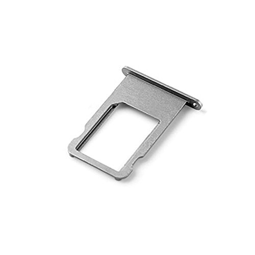 Ewparts SIM Card Tray Replacement for iPhone 6 Plus 5.5 Inch (Grey)