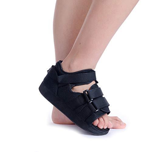 PHASFBJ Orthopädischer Spezialschuh, Walker Fracture Knöchel Fuß Stabilisator Stiefel Chirurgische Fixierung Schuhe Fuß Drop Schiene Knöchelstütze für Plantar Fasciitis Fersenschmerzen,M