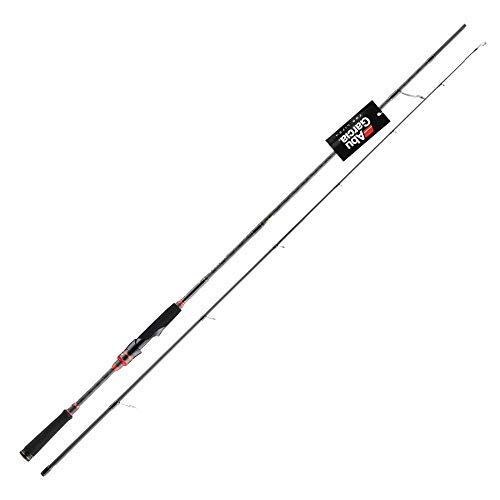 Hayandy Spinning Casting Lure Fishing Rod 2.29m 2,44 Carbon-M ML Energie-Fischerei-Gerät mit Eva Griff-Casting C802ML 2,44 (Size : SpinningS762ML 2.29M)