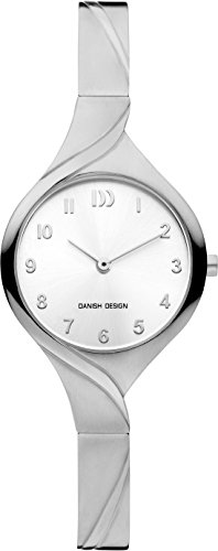 Danish Design dames analoog kwarts horloge met titanium armband IV62Q1200
