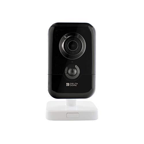 Delta Dore Telecamera di sicurezza interna collegata TYCAM 1100, sistema di sicurezza, senza abbonamento, rilevamento di movimento, 6417006
