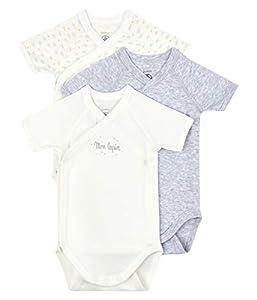 Petit Bateau A002f00 ropa interior, multicolor, 12 meses Unisex bebé