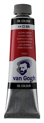 Royal Talens : Van Gogh Oil Paint : 40ml : Alizarin Crimson S1
