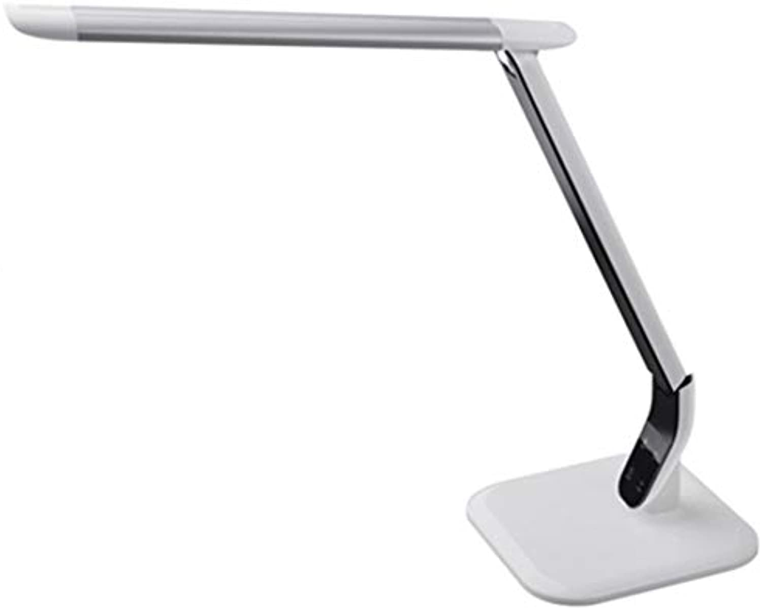 LED eye protection charging table lamp, five-speed dimming, learning, working, reading lamp