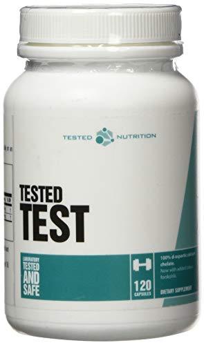 Tested Nutrition Test DAA Testo Booster Testosteron Fitness Bodybuilding - 120 Kapseln