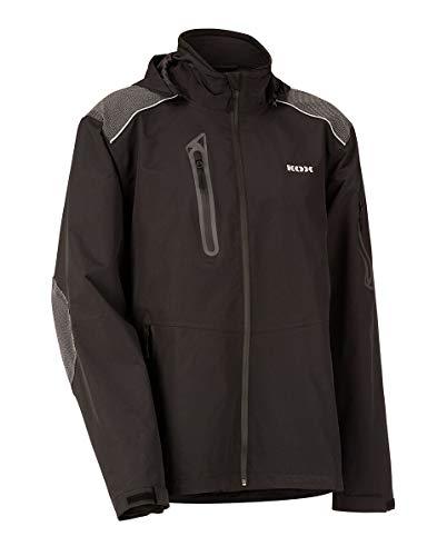 KOX Aqua Duro Regenschutz-Jacke, schwarz, Größe 54/56