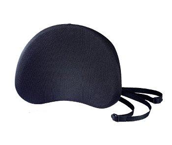 System-S Back Support Auto Büro Stuhl Rücken Kissen Lendenkissen Rückenpolster Rückenstütze Schwarz
