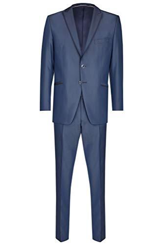Wilvorst - Herren Anzug in Blau (Art.463100/34 Modell: 12272 224-2), Größe:46, Farbe:Blau (34)