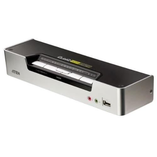 Aten CS1794-AT-G -Switch 4 Porte HDMI KVMP con 2.1 Audio