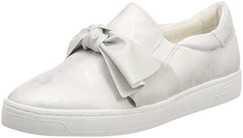TOM TAILOR Damen 4892617 Sneaker, Weiß (White), 40 EU