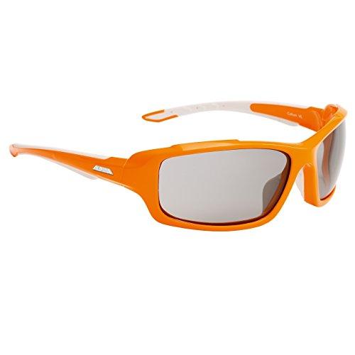 Alpina Sportbrille Callum VL, Fassung: Orange/White; Gläser: Varioflex Black S2/3, One Size, A 8457 1 28