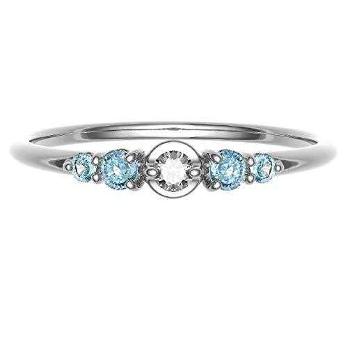 [ココカル]cococaru ダイヤモンド ロードライトガーネット リング シルバー Silver925 指輪 11号 重ね付け 天然石 誕生石 カラーストーン 天然 ダイヤ 日本製