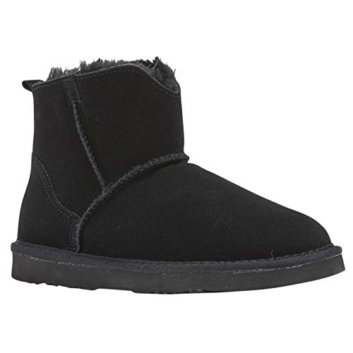 Lamo Women's Bellona - Ladies Ankle Boot, Black, US Size 9