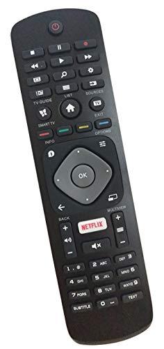 ALLIMITY 996598001429 Telecomando Sostituito per Philips 4K UHD LED Smart TV wiht Netflix 43PUS6503 43PUS6703 49PUS6803 50PUS6703 55PUS6703 55PUS6803 65PUS6703 65PUS6753