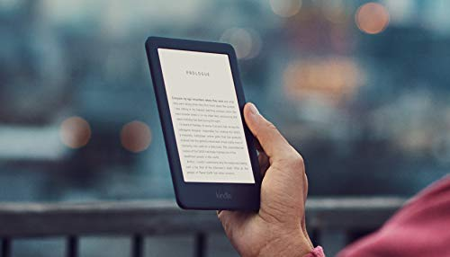 Kindle - Now with a Built-in Front Light - Black - Ad-Supported + Kindle Unlimited (with...