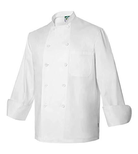 Chaquetilla Uniforme Hostelería Unisex De Manga Larga con Bolsillos. Ropa Cocina/Cocinero/Cocinera. Ref: 4103