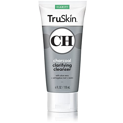 TruSkin Charcoal Face Wash, Anti Ag…