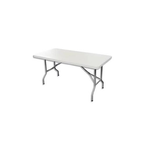 Table pliante polyethylène format 152 x 76 x 74 cm