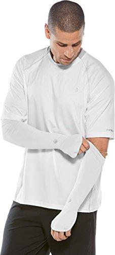 Coolibar UPF 50 Plus Collant de Bain pour Homme S Blanc