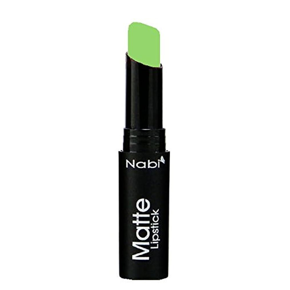 ダンスロッドアミューズNabi Cosmetics Matte Lipstick - Matte Lime (並行輸入品)