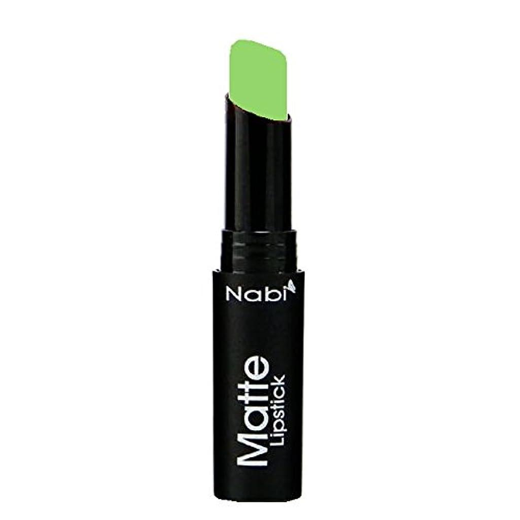 ファンブルオーバードロー親(3 Pack) Nabi Cosmetics Matte Lipstick - Matte Lime (並行輸入品)