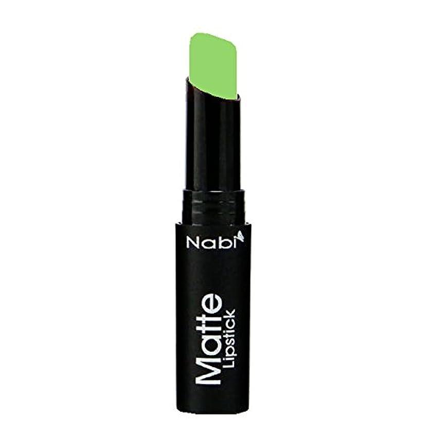 責任者ルーチン幻影(6 Pack) Nabi Cosmetics Matte Lipstick - Matte Lime (並行輸入品)