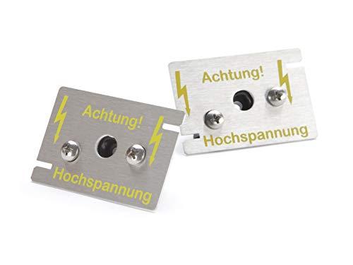 2 Hochspannungs-Sensoren zur Erweiterung der MarderSICHER-Systeme Active und Mobil