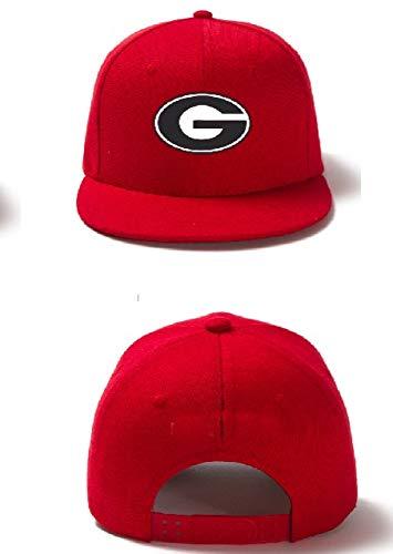 georgia bulldog flat bill hat - 6