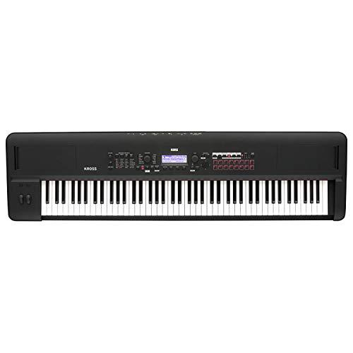 Best Prices! Korg Kross 2-88-MB 88-key Synthesizer Workstation - Super Matte Black