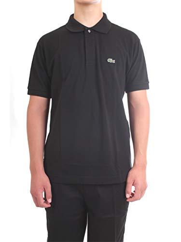 Lacoste L1212 T-Shirt Polo, Uomo, Nero, L