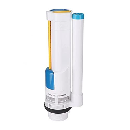 QWXZ Accesorios de Aseo 285 mm Tanque de Inodoro Válvula de Descarga Completa Válvula de Entrada Baño W C Cisterna Tanque de Agua Kit de reparación Pulsador Válvula de Agua Fuerte y Robusto