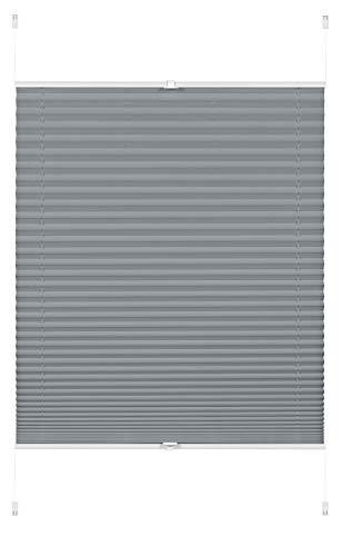 GARDINIA EASYFIX Rideaux Plissées Greta à Fixer par Serrage, Opaques, Kit de Montage Inclus, Perlmuttrosa, 90 x 130 cm (LxH)