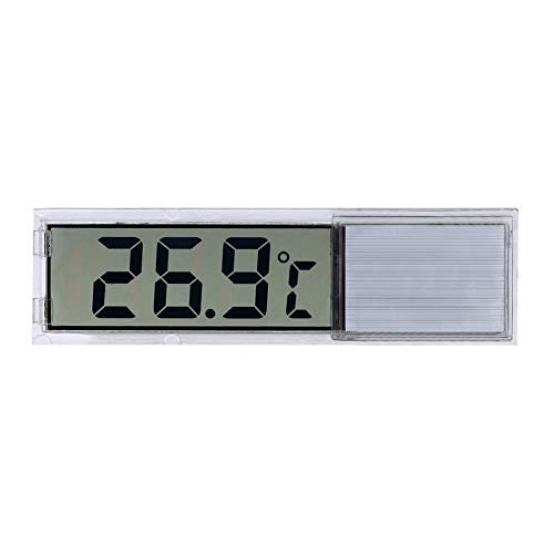 YiGo 1pc electrónico Digital termómetro del Acuario LED Plata inductivo termógrafo precisa del Acuario Termómetro
