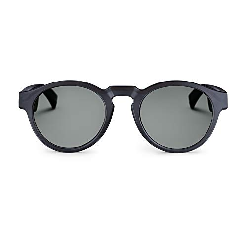 Bose Frames - Audio Sunglasses with Open Ear Headphones, Rondo, Black - with Bluetooth Connectivity