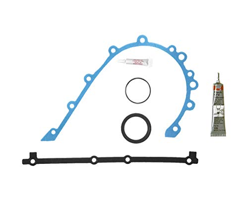 Fel-Pro TCS 45458 Timing Cover Gasket Set with Repair Sleeve