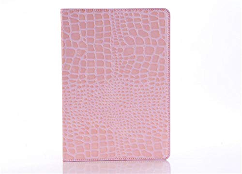 SUNMINGY Stand Crocodile Grain Flip Leather Case Cover For Ipad Tablet Fundas Cases For Ipad 4 Ipad 3 Ipad 2-Pink