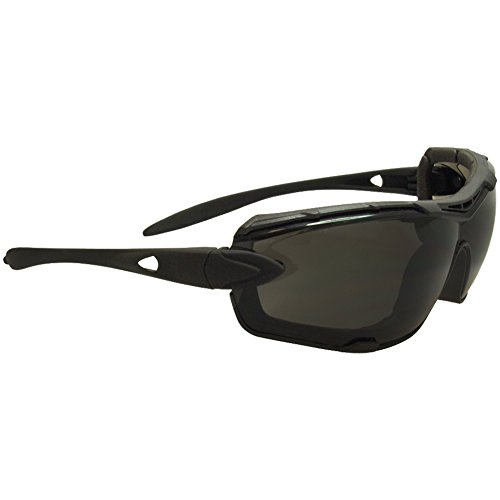 Swiss Eye Detection Zonnebril - Smoke + Clear Lens/Rubber Zwart Brilmontuur