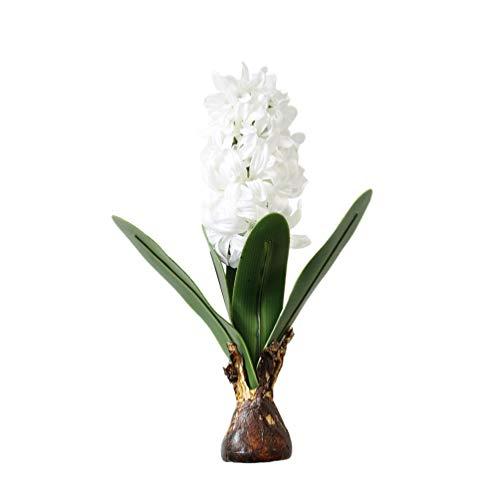 BESPORTBLE Weiße Hyazinthe Blume Faux...