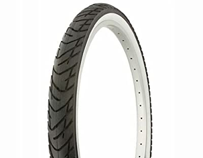 "Lowrider Tire Duro 26"" x 2.125"" Black/White Side Wall DB-1012. Bicycle tire, Bike tire, Beach Cruiser Bike tire, Cruiser Bike tire, Chopper Bike tire, Trike tire, Tricycle tire"