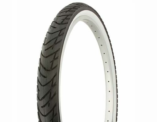 Lowrider Tire Duro 26' x 2.125' Black/White Side Wall DB-1012. Bicycle tire, Bike tire, Beach Cruiser Bike tire, Cruiser Bike tire, Chopper Bike tire, Trike tire, Tricycle tire