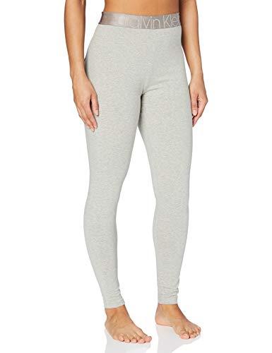 Tommy Hilfiger Legging Pantalón de Pijama, Calor Gris, M para Mujer