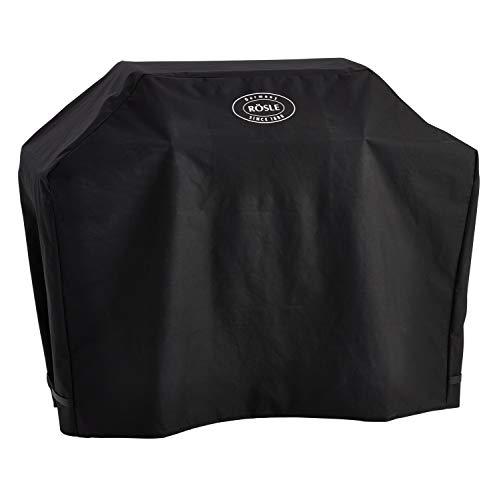 RÖSLE Abdeckhaube BBQ-Station VIDERO G4/G4-S, Hochwertige Schützhülle aus 100% Polyester, mit praktischem Klettverschluss zum Fixieren, wasserdicht