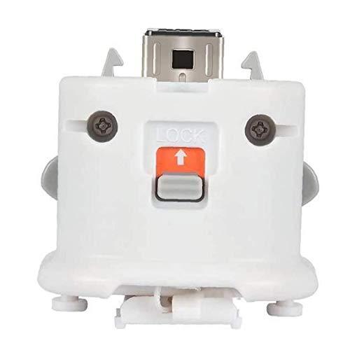 Canjerusof Sensor Adaptador Wii Motion Plus para Wii Sports Acelerador intensificador de silicio de Nintendo Remoto Controlador de Movimiento Juegos Enhancer