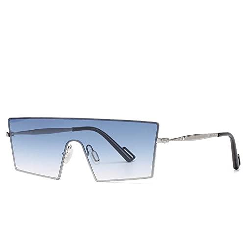AMFG Gafas de sol personalizadas Caja transfronteriza Caja de sol y gafas de sol para mujer Viajes al aire libre Fotografías de conducción (Color : E)