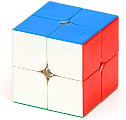CuberSpeed Yuxin Little Magic 2x2 M stickerless Speed Cube Yuxin 2x2x2 Magnetic Cube 2x2 product image