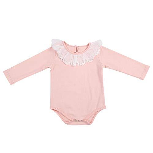Traje de mono para bebé recién nacido, mono encantador para bebé, fresco y cómodo, para primavera y verano,(pink, 66)